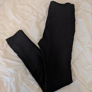 Pull on ponte leggings with tummy control